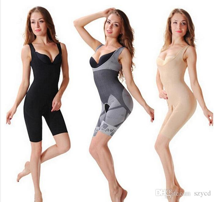 Women's body shaper High Quality Slim Corset Slimming Suits Bodysuit Shapewear Bamboo Charcoal Sculpting Underwear
