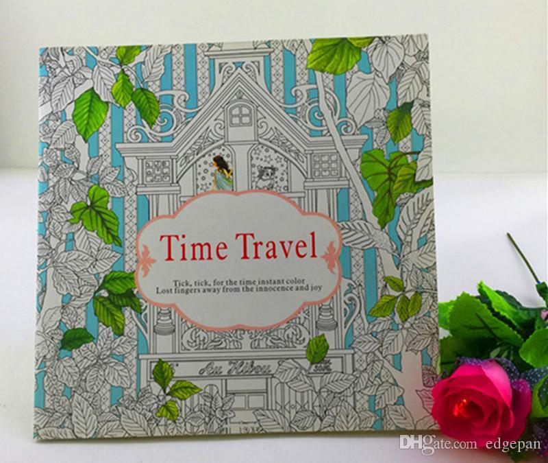 Adult Coloring Books Secret Garden Series Birth Of Fashion