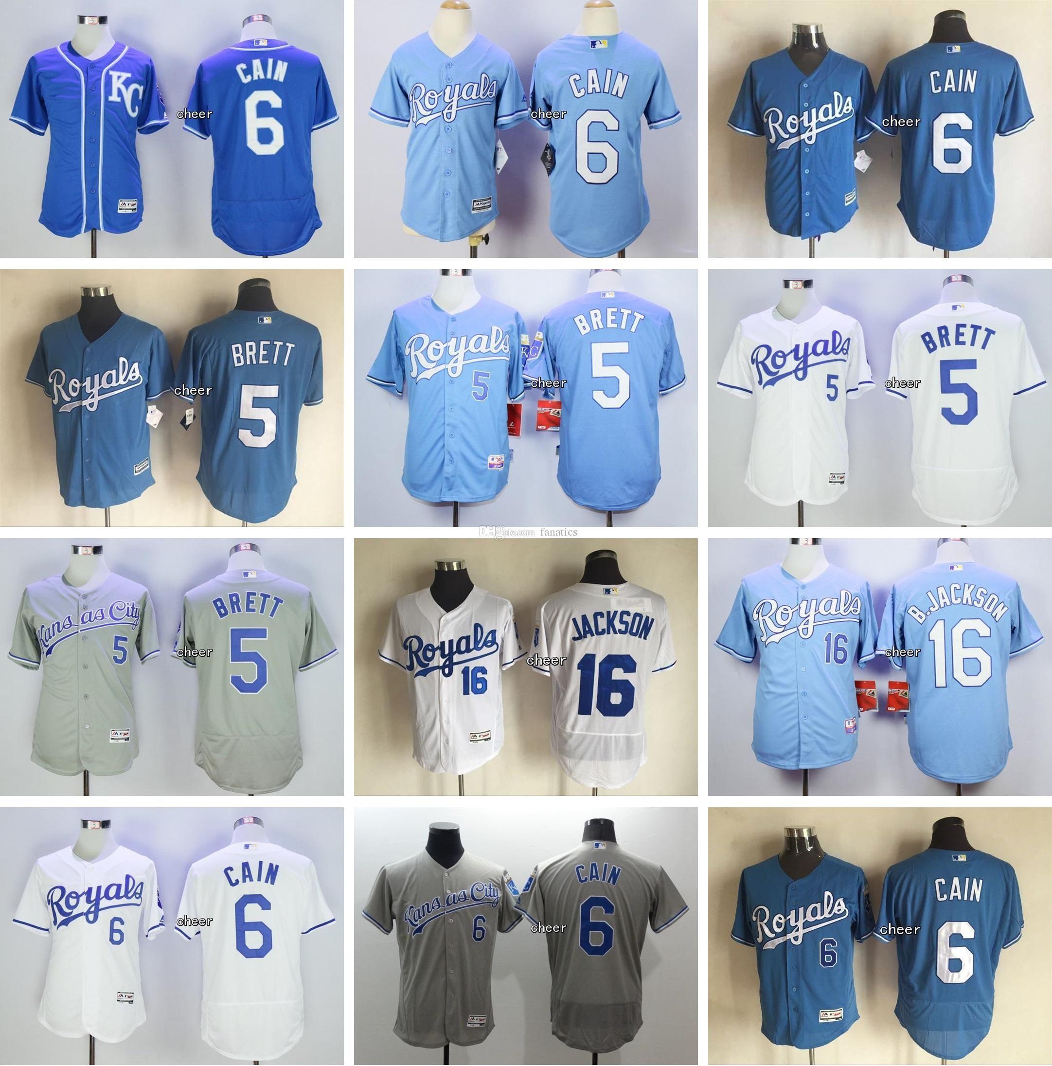 new products 890f6 ba499 mens kansas city royals 5 george brett retired light blue ...