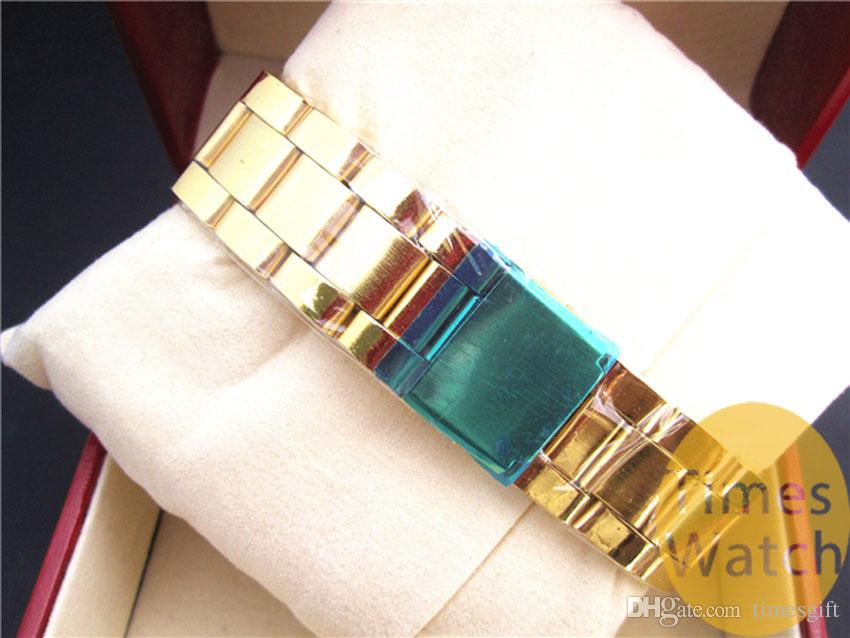 Yüksek Kalite Moda Altın İzle Yeni Varış Yonca Kuvars Spor Relojes Bayanlar Erkek Elbise Altın Karikatür Bilek Saatler