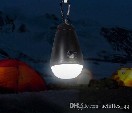 LED Outdoor Camping Lampe Portable Portable LED Camping Lantern Avec Télécommande Waterproof Outdoor Lampe USB Rechargeable Lights
