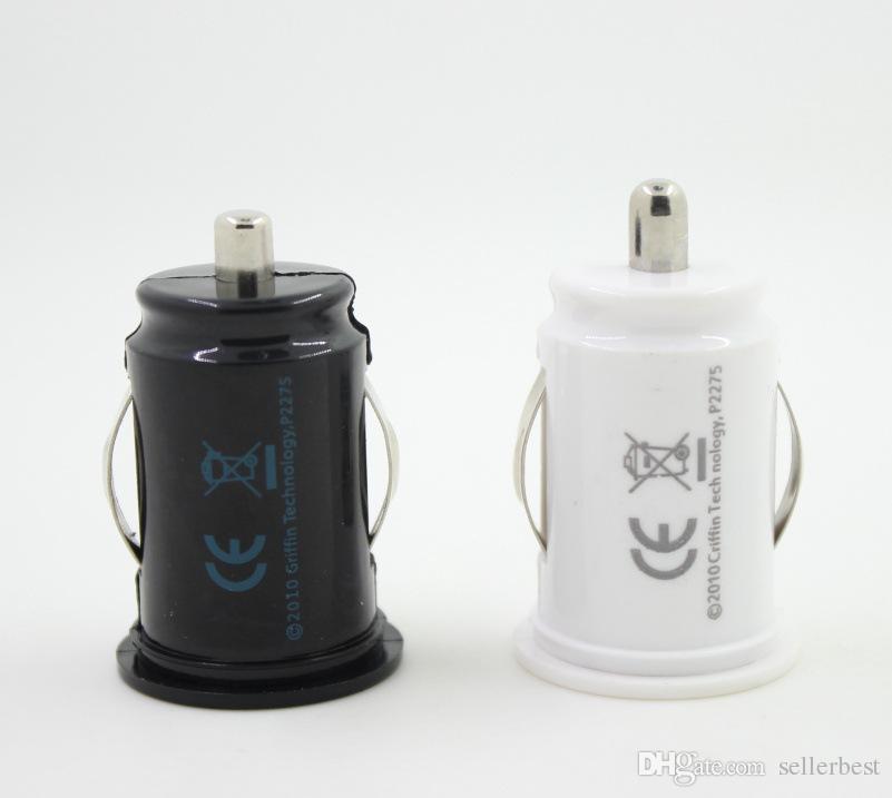 유니버설 전체 2.1A 마이크로 자동 유니버설 듀얼 2 포트 USB 자동차 충전기 아이폰 iPad 아이팟 3.1A 미니 자동차 충전기 어댑터 / 시가 소켓 블랙