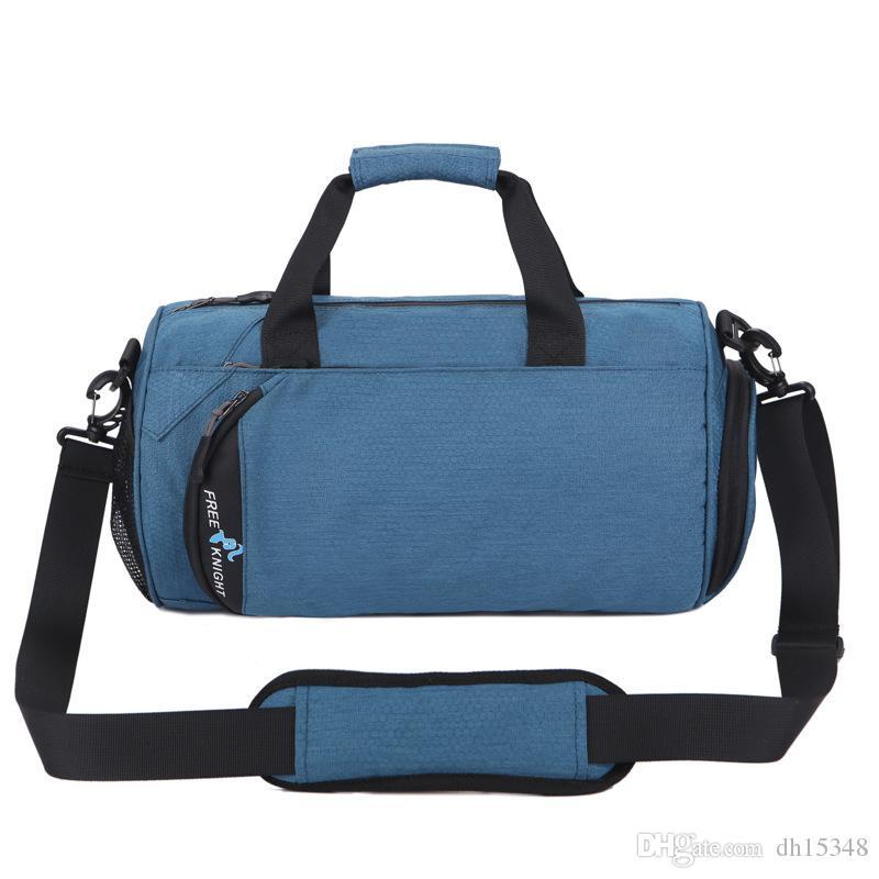 b16dcab49ac5 2019 новые спортивные сумки мужские сумки на ремне для баскетбола женские дорожные  сумки большой емкости ручной переноски короткие поездки рюкзак мода ...