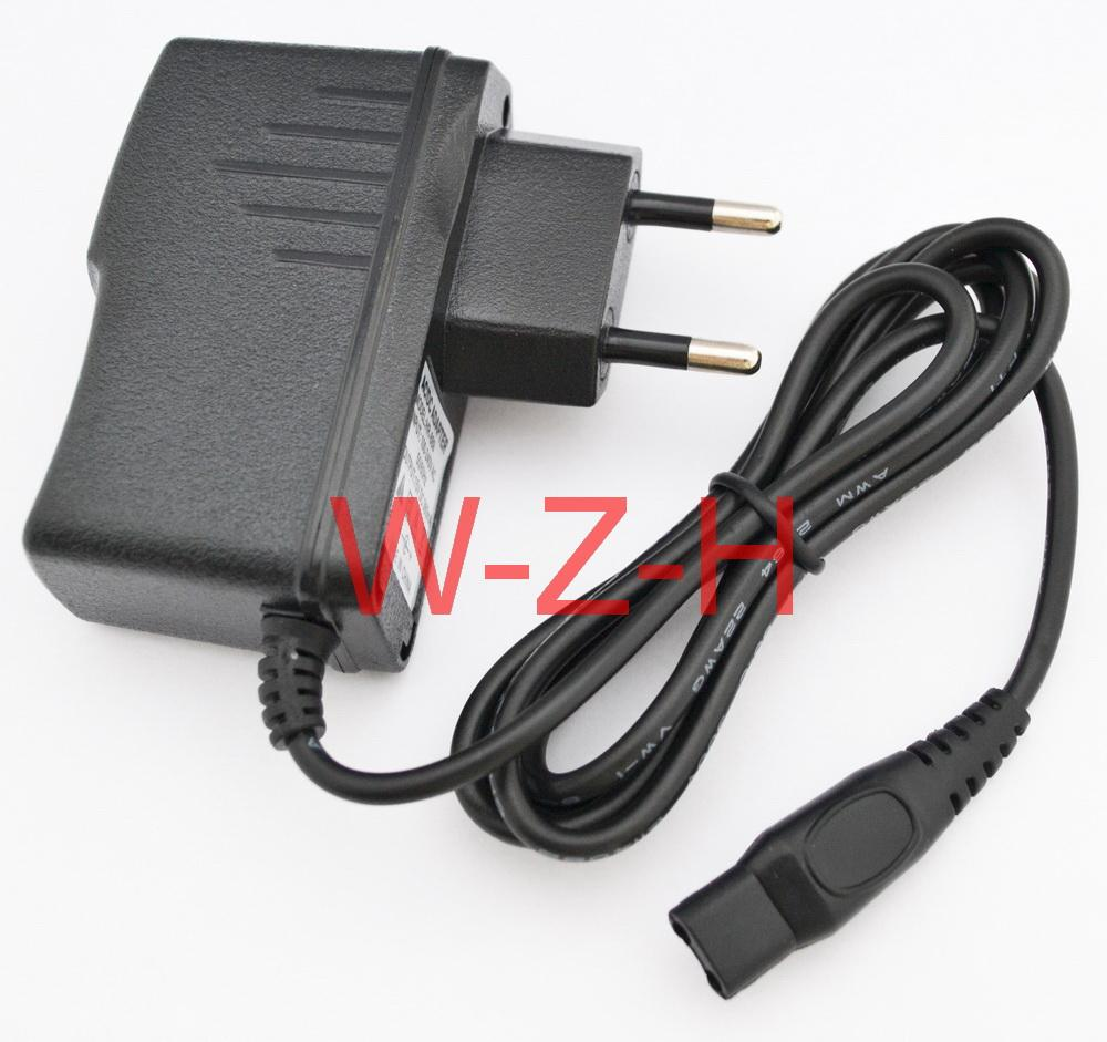 High quality 15V 360mA & 380mA 2-Prong EU Wall Plug AC Power Adapter Charger for PHILIPS Shaver HQ8505 HS8020 HQ8875 S20