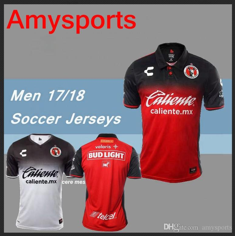a9501b93c 2018 2017 Custom Men Mexico Club Tijuana Soccer Jersey Xolos De Tijuana  G.Bou Corona Lucero Malcorra Kalinski L.Chavez Football Shirt From  Amysports, ...