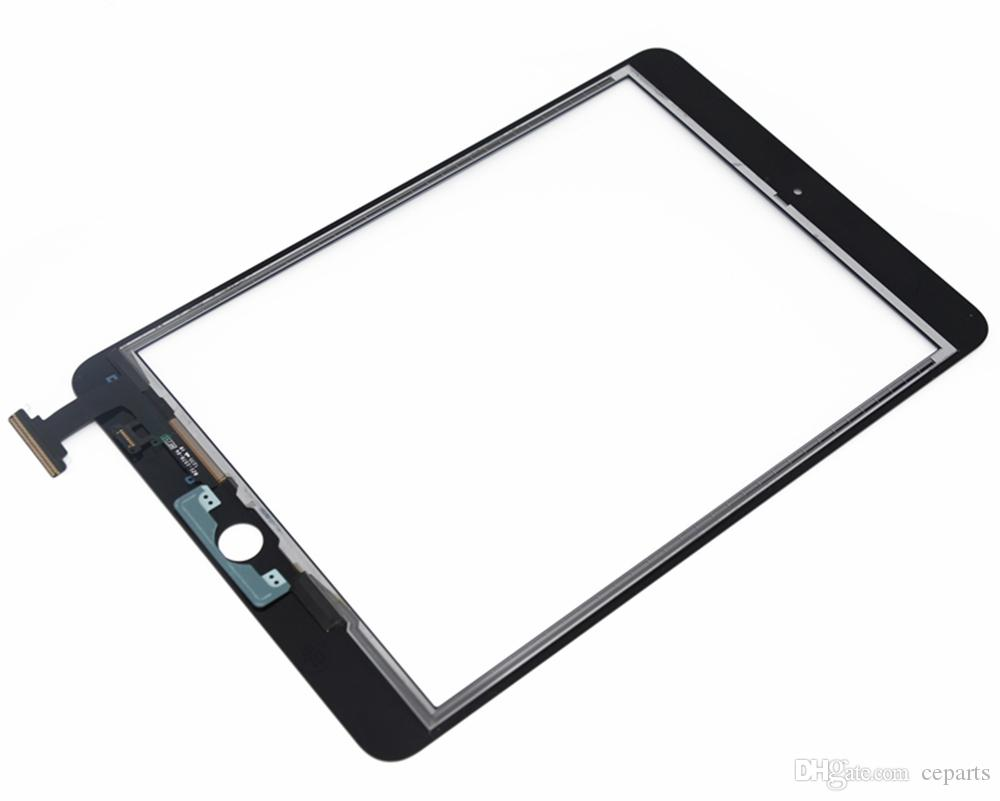 Best price Replacement Digitizer Touch Screen Replacement Glass for iPad mini with fast shipping Black or white