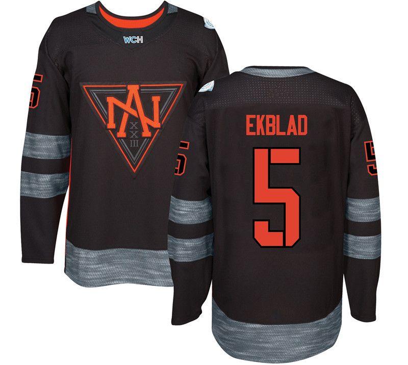 2016 World Cup of Hockey North American Team Jersey Gaudreau Miller Trouba Ekblad Parayko Jones Mcdavid Drouin Jerseys Any Name and Number