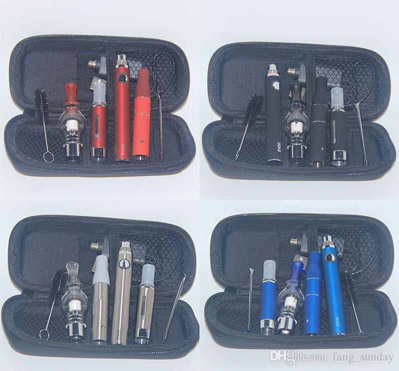 3in1 Vaporizer eVod Ecigs AGO G5 Dry Herb MT3 Eliquid Atomizer 3in 1 Vape Pen Wax Glass Globe 3 in 1 Vapor Kits
