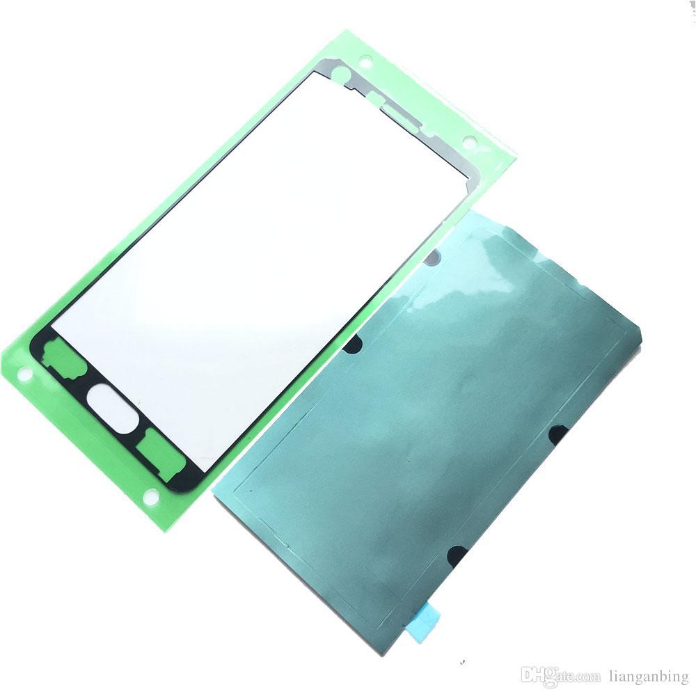 Высокое качество оригинальный передний корпус клейкая лента клей для Samsung Galaxy A7 A700F A700 A7000 ЖК-передняя рамка стикер DHL логистики