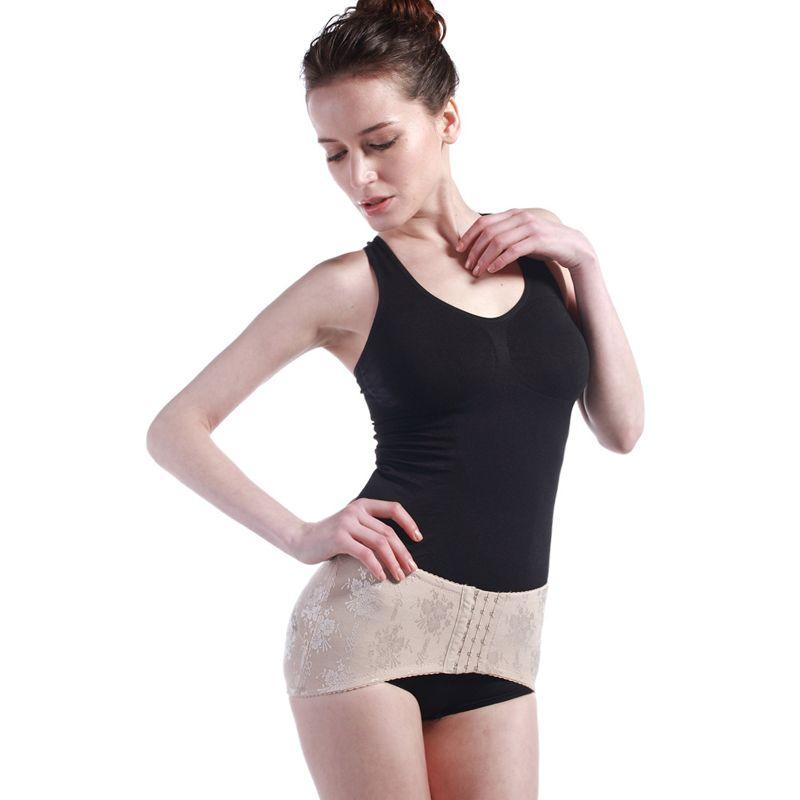 d9ae087be3 2018 Wholesale Correct Pelvis Corrector Postpartum Belt Hip Enhancer Gridle  Pelvis Reshaper Gridel Body Shapers Body Slimming Belts Zip From Silan