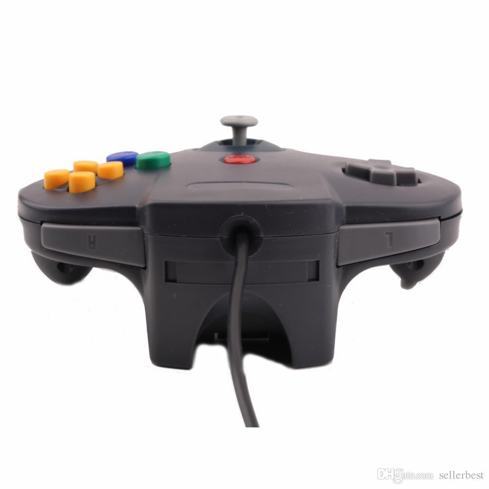 USB Handle Long Game Controller Pad Joystick para PC Nintendo 64 N64 Sistema En stock