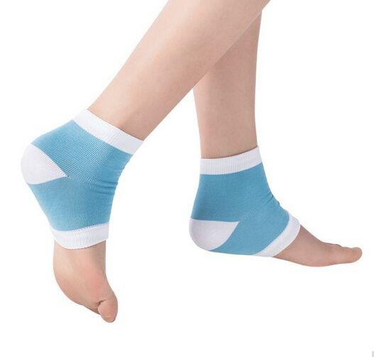 Gel Heel Chaussettes Pied Hydratant Hydratant Gel Spa Chaussettes pieds soins Cracked Pied Sec Dur Peau Protecteur