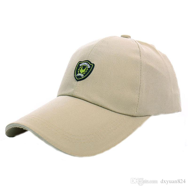 74e4d622f36 Fashion Mens Shield Shaped Badge Letter Sports Adjustable Structured Baseball  Hat Plain Sun Cap Outdoor Golf Fishing Hiking Hat Unisex Kids Hats Ball Caps  ...