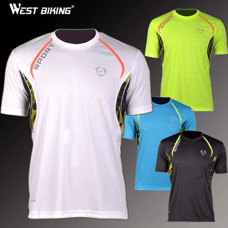 Brand quality design men sports tshirts slim fit quick dry for Make t shirts fast