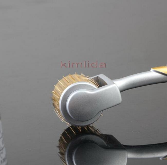 100 teile / los 192 nadeln Titan ZGTS derma roller haut roller schönheitswalze Microneedle Roller Fabrik meso derma stempel roll system