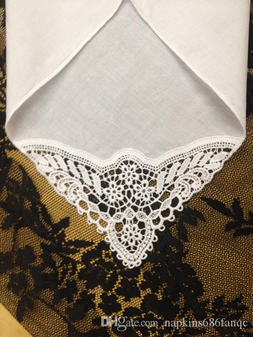 Textiles para el Hogar Conjunto de 12 España Estilo de boda Pañuelo de novia 12