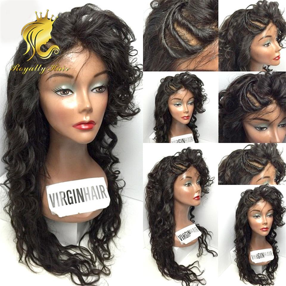 Full Lace Human Hair Wigs For Black Women Wet And Wavy Brazilian Hair Lace Front Human Hair Wigs Glueless Full Lace Wigs