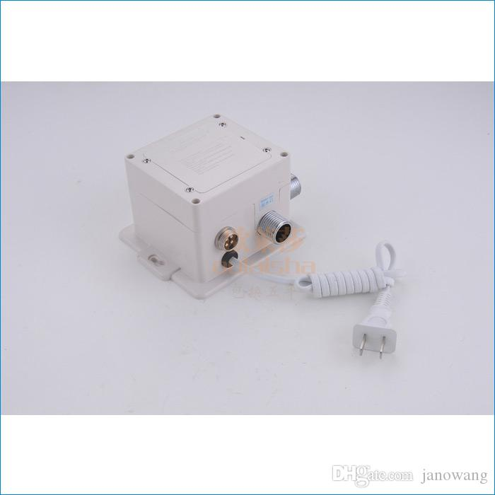 Auto-Touch-Sensor Badezimmer Wasserhahn, AC-und DC-Control-Box + Hot and Cold Thermostat + 3 Stück Schlauch, kostenloser Versand J14347