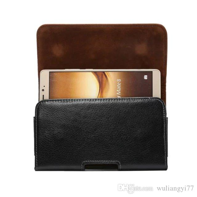 Universal Genuine Leather Belt Clip Phone Pouch Bag for iPhone 6 6S Plus 5 5S iPhone SE Vintage Case for Samsung Galaxy S6 S5 S4 Covers