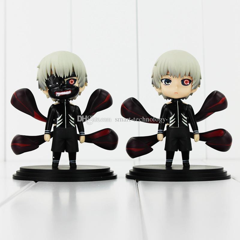 Ken Kaneki Figure Tokyo Ghoul Kaneki Ken PVC Action Figure Toy Collectible Model Doll Toys With Box 10cm 2styles