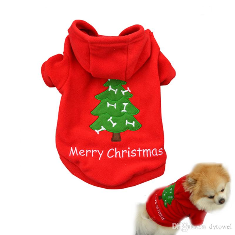 Free Shipping Hot sell Christmas Pet Puppy Dog Clothes Santa Claus Costumes Outwear for Small dog pet Thick Coat Apparel Dog clothing CD025