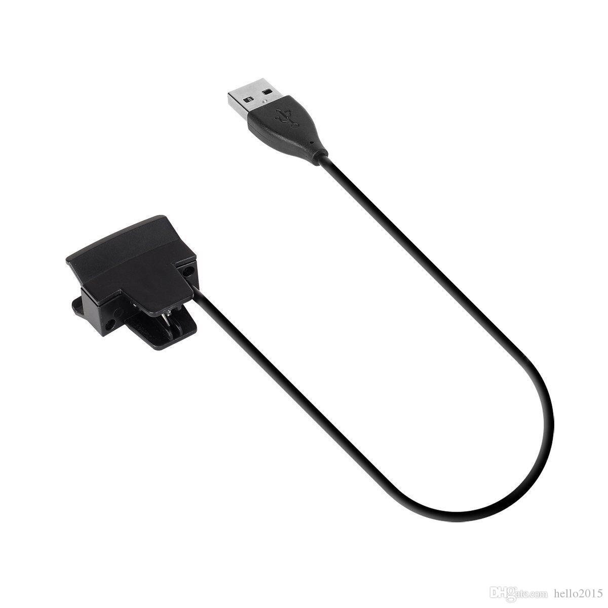 Alta calidad Nuevo OEM Cargadores USB Cables de cable de carga Reemplazo para Fitbit Alta Wireless Wristband Clamp Clip Cable