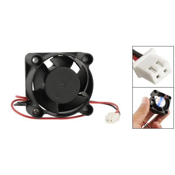 The Cheapest Price Dc 12v 2-pin 5 Blade Cooler Brushless Mini Cooling Fan 4020 Electronics Stocks Electronic Components & Supplies