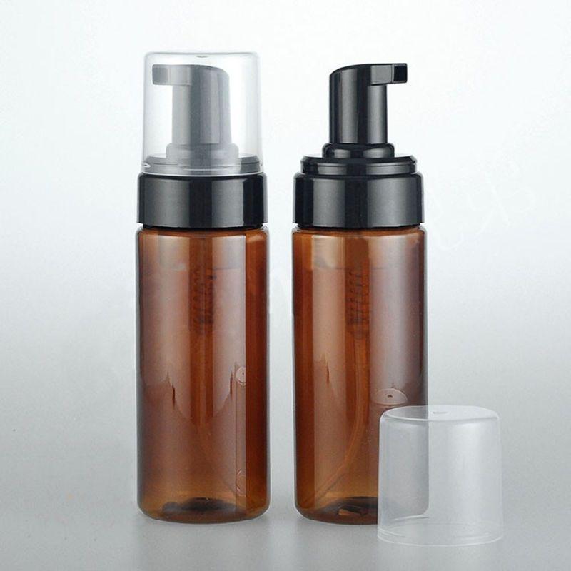 150ml Empty Amber Plastic Foaming Bottle Soap Dispenser