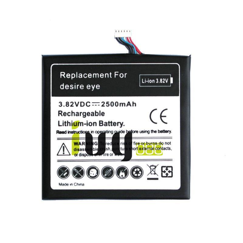 2500mAh B0PFH100 Replacement Battery For HTC desire eye M910X M910n Batteries Batteria Batterij