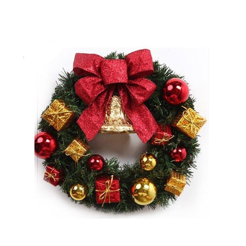 Small Christmas Wreaths.Christmas Small Wreath Corsage Artificial Flowers Simulation Fleur Artificielle Christmas Tree Ornaments Christmas Wreath