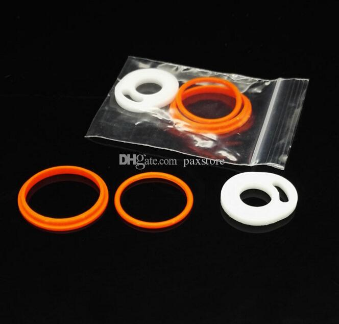 TFV8 Atomizer Silicone O Rings fit TFV8 Atomizer Full Kit Silicone Ring for TFV8 Black SS Top Refilling Tank FREE SHIP