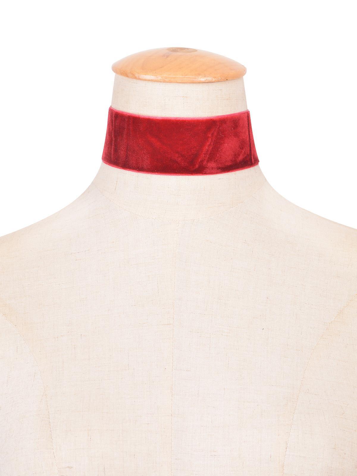 2016 Mujeres Punk Collar de Gargantilla de Terciopelo Negro Gótico Vintage Gran Collar de Cinta de Terciopelo Collar de Joyería Hecha a mano para Mujeres Nueva Moda