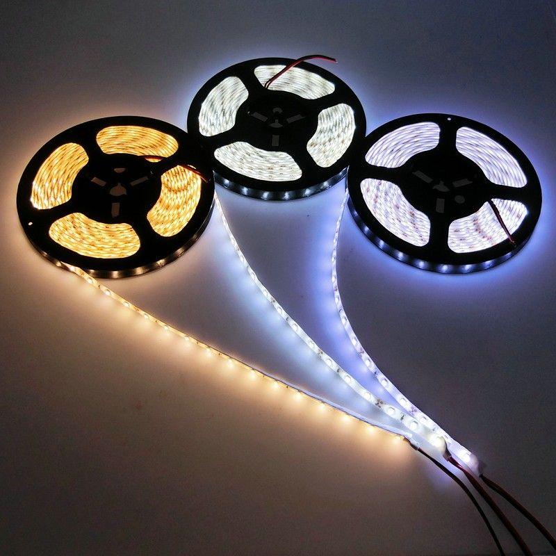 Ny ankomst Super Bright 5630SMD LED Strip Light 2700 Lumen Röd Blå Grön Vit Varma Färger 5m Flexibel 16ft 5m 300 LED Vattentäta remsor