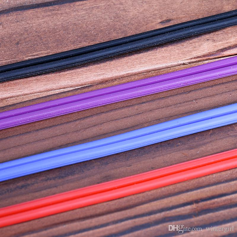 Nouveau type Tattoo Clip Cord 4 Couleurs Haute Qualité Silicone Tattoo Clip Cords Acier Inoxydable Métal RCA Joint TPS5120