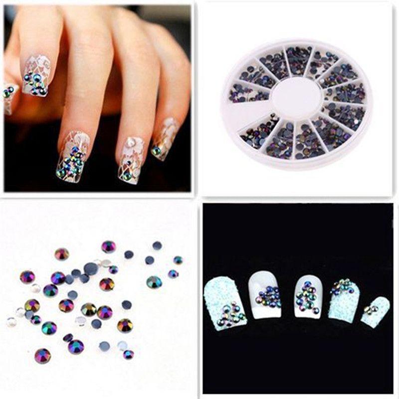 Wholesale Crystal Glitter Rhinestones Gel Nail Art Polish ...