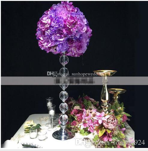 Magnificent New Tall Elegant Centerpieces Artificial Flower Arrangement Stand Wedding Table Centerpieces Event Decor For Flower Arrangement Interior Design Ideas Tzicisoteloinfo