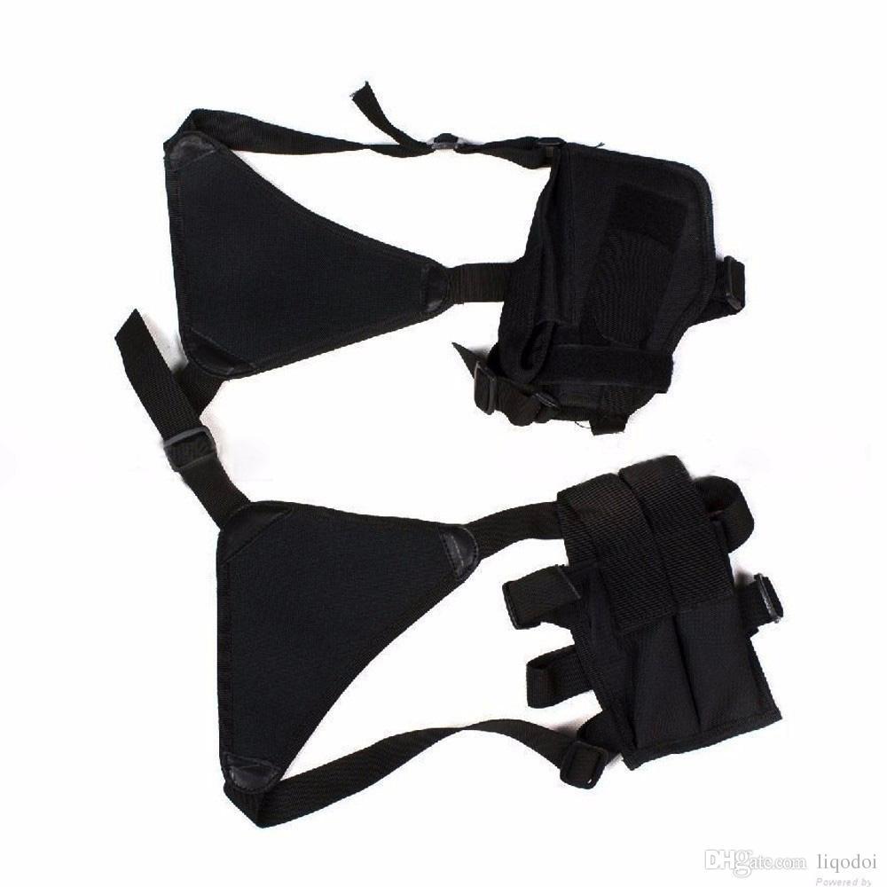Adjustable Outdoor Anti-theft Hidden Underarm Tactical Harness Phone Gun Nylon Shoulder Holster Armpit Bag for Gun