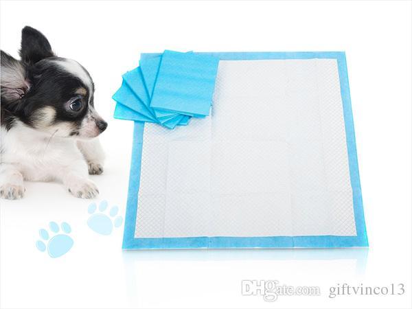 Cão de estimação Gato Fralda Super Absorvente Casa Almofadas de Treinamento para Filhotes de Cachorro Polímero Mais Rápido Seco Pet Pads Saudável Limpo Esteira Molhada Atacado