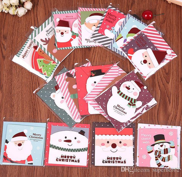 Creative Cartoon Cat Postcard/ Holiday Cards/greeting Cards/ Message Business Card Business Cards Realistic Free Ship!1lot=100pc Calendars, Planners & Cards