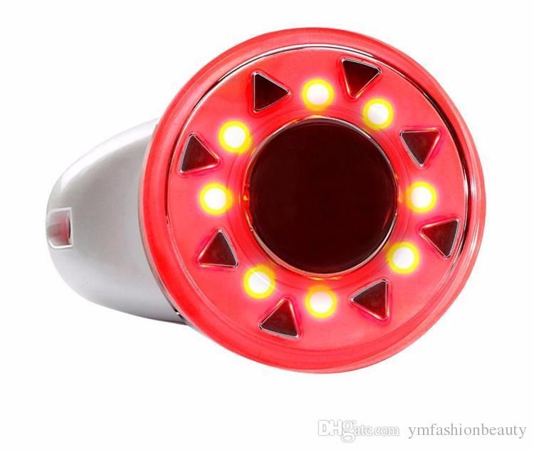 바디 마사지 RF 피부 리프팅에 대 한 휴대용 라디오 주파수 Cavitation 초음파 슬리밍 기계 RF LED Pothon 치료를 조여 무료 배송
