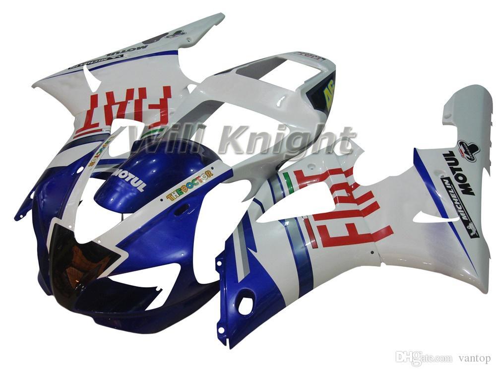 Kit de carenado de carrocería completa para molde de inyección de motocicleta para YZF1000 YZF R1 1998 1999