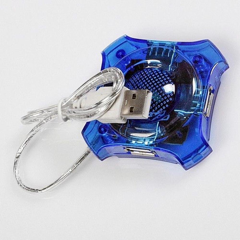 4 포트 USB 허브 세련된 미니 고속 랩톱 노트북 PC 용