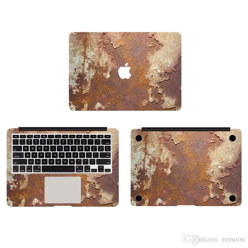 2018 rusty metal texture vinyl full body cover laptop decal skins 2018 rusty metal texture vinyl full body cover laptop decal skins for apple macbook 11 13 15 inch protective stickers from zersoon 1407 dhgate gumiabroncs Images