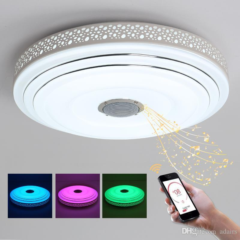 Best Smart Intelligent Multi Color Chandelier Light App Control Dimmable Modern Led Chandeliers Lamp For 10 15 Square Meters Under 170 86 Dhgate Com
