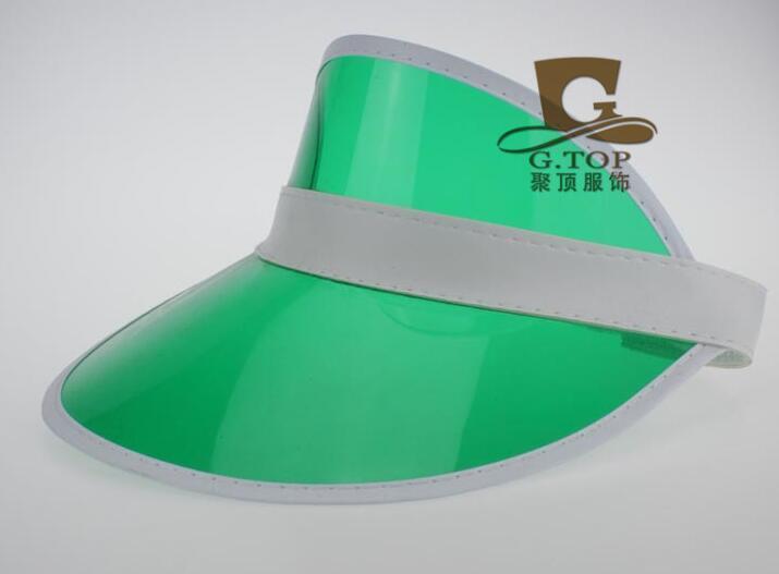 Неоновый солнцезащитный козырек Пиковая крышка пластиковый козырек солнцезащитная шляпа рейв фестиваль маскарадный костюм покер оголовье мужской женский общий открытый солнцезащитный козырек ПВХ цилиндр