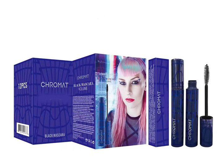 Más nuevo Maquillaje Rímel Chromat Volumen Negro impermeable rimel de alta calidad envío de DHL