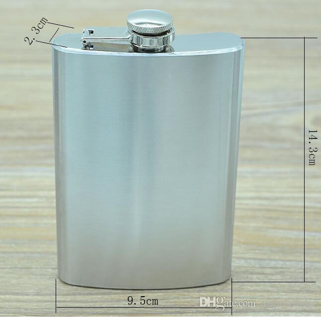 Ballon chaud pour hanche en acier inoxydable 10oz 285 ml Haute qualité