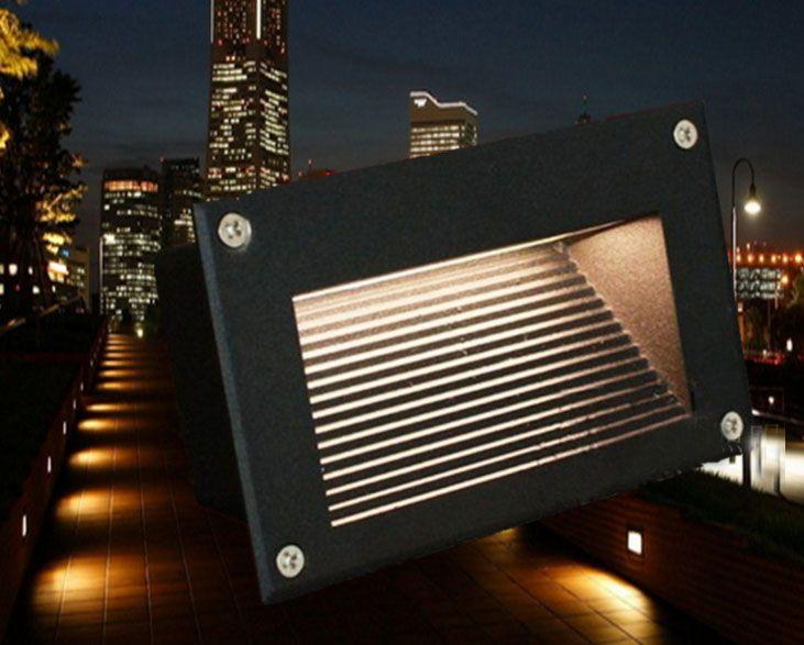 Acquista lampade a led lampade sotterranee 3w ip67 deck step paitio