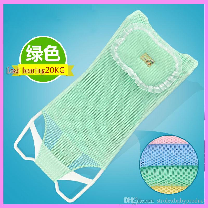 2018 New Design Foldable Baby Bath Tub Bed Pad Bath Chair Shelf Baby ...