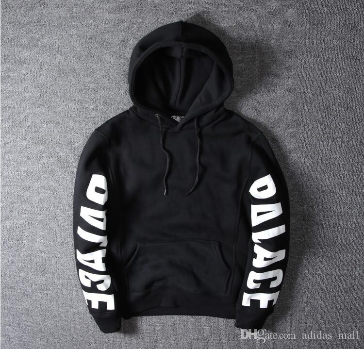 979cb7799476 2019 Black Palace Hoodie Sweatshirt Women Fleece Hooded Hoodies Men  Sweatshirts Streetwear Hip Hop Palace Skateboards Sweat Place From  Adidas mall